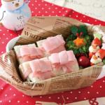 ファイト!まみママ|クリスマスプレゼントのサンドイッチお弁当