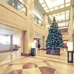 ホテル日航奈良のクリスマスツリー