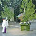 大神神社の「大門松」