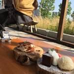 大阪府茨木市|彩都西の【りくろーおじさんチーズケーキの店】にいってきたよ!