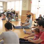 摂津市 一緒にランチタイムも!パパとの親子教室スタート♪