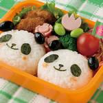 キャラ弁レシピ|パンダおにぎり