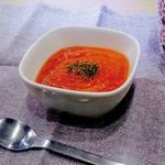 アレルギー対策レシピ|豆乳入りトマトスープ(卵なし/乳なし/小麦なし) \がんばるママ応援企画/