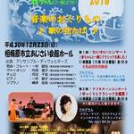 「相模原市|12/23(日・祝)クリスマスコンサート 2018 音楽のおくりもの」