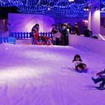 東京・八王子市|東京あそびマーレ 1年中雪が降るスノータウンを楽しもう♪
