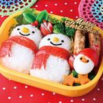 キャラ弁レシピ|雪だるまのお弁当