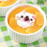 スイーツレシピ|ライオンさんの黄桃ミルクプリン