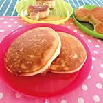 アレルギー対策レシピ|冷めてもふわっふわ♪ 米粉と豆腐のパンケーキ(卵なし/乳なし/小麦なし) \がんばるママ応援企画/