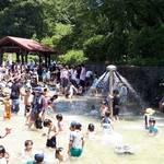横浜市青葉区 こどもの国で「水」あそび