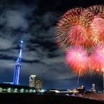 【福岡】ももちの夏の夜を彩る花火と音楽の饗宴 「花火ファンタジアFUKUOKA2019 」