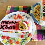 アレルギー対策レシピ| 今年は和風なクリスマス♪ ☆メリー「押し寿司」ケーキ☆(卵なし/乳なし/小麦なし) \がんばるママ応援企画/