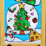 【福岡】可愛いオリジナル作品が作れる★ クリスマスグラスデコ体験
