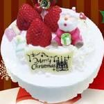 ベルジュお菓子の木 オリジナルデコレーションケーキでクリスマス!