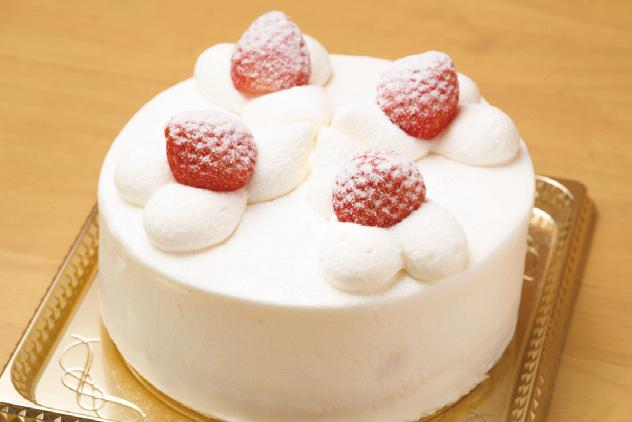 プレゼントNO.13●シェフ特製 デコレーションケーキ(4号)