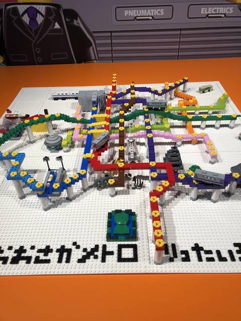 どこまでレゴで作るんですか⁈