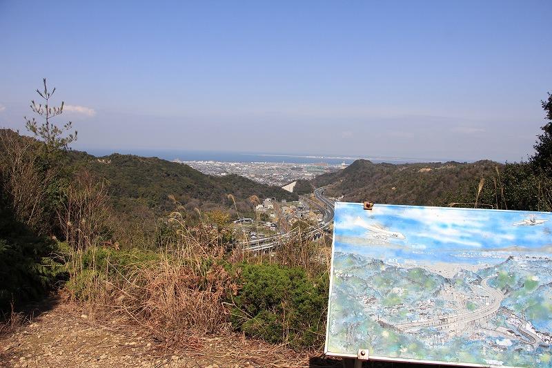 わんぱく砦から見える景色。