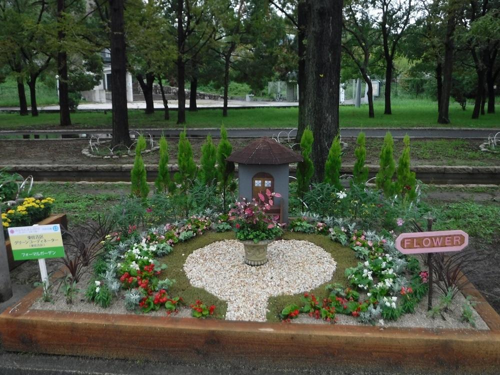 昨年の市民花壇の様子