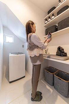 ◆洗濯機置き場