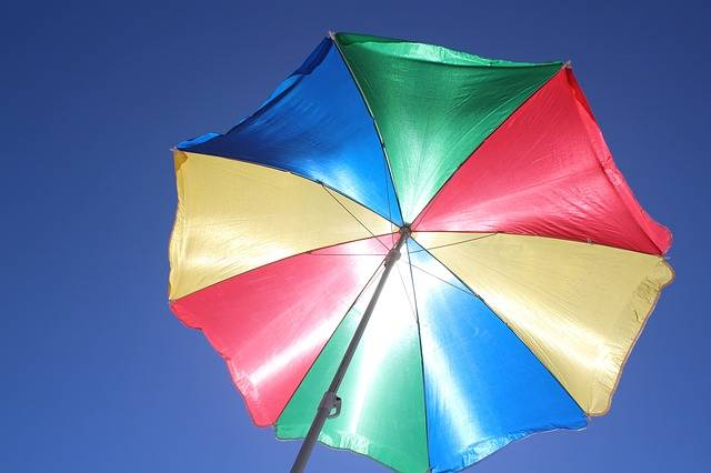 Free photo: Parasol, Sun Protection, Blue Sky - Free Image on Pixabay - 486963 (24575)