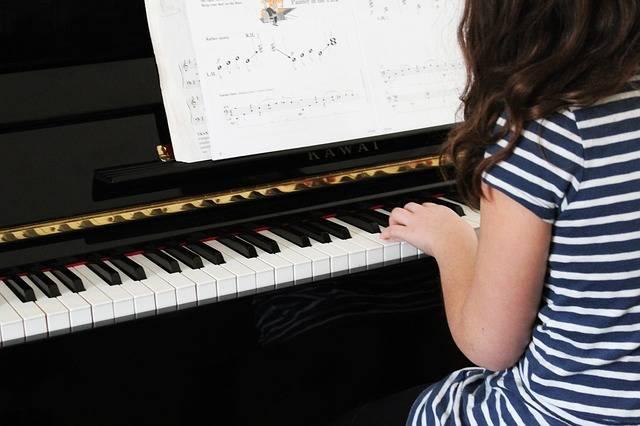 Piano Music Girl · Free photo on Pixabay (52856)