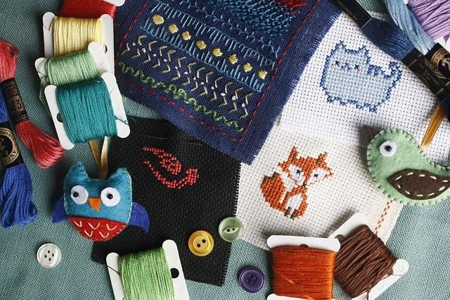 Embroidery Needlework Cross-Stitch · Free photo on Pixabay (55620)