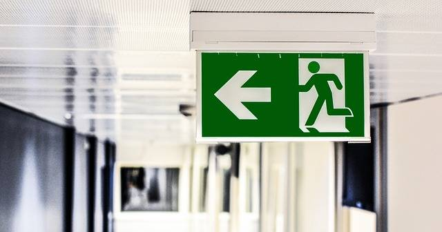 Emergency Exit Sign · Free photo on Pixabay (56034)