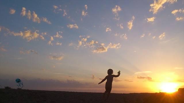 Child Sunset Children'S Games · Free photo on Pixabay (58457)